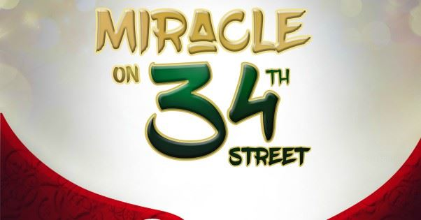 Miracle On 34th Street, The Musical Page Banner