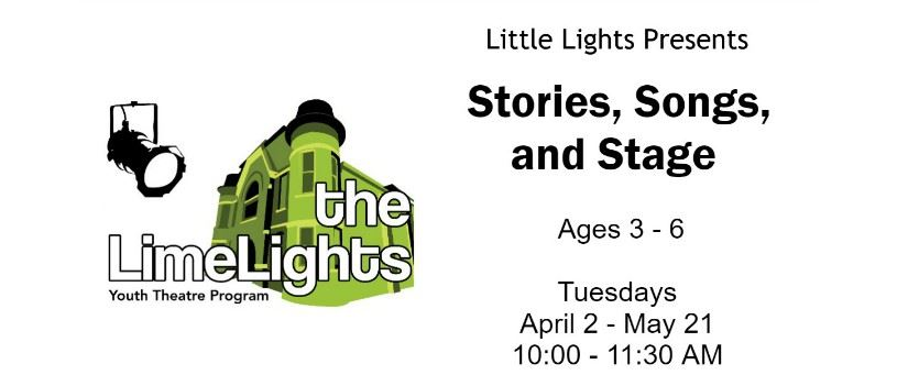 CLICK HERE for more information and registration for Stories, Song & Stage