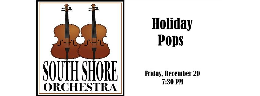 CLICK HERE to submit an online request for Group Rates for South Shore Orchestra Holiday Pops