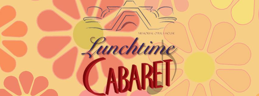 Back To Bacharach Lunchtime Cabaret Event Page Banner