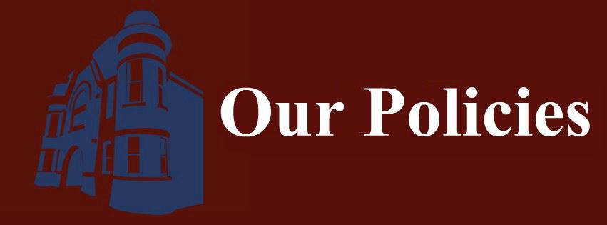 Our Policies Page Banner