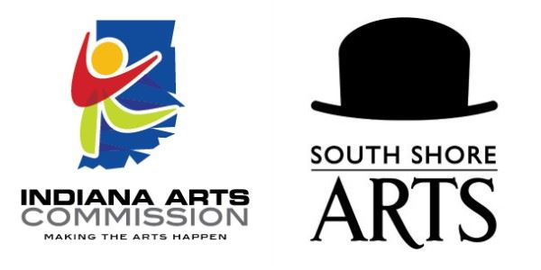 Indiana Arts Commission & South Shore Arts Logos
