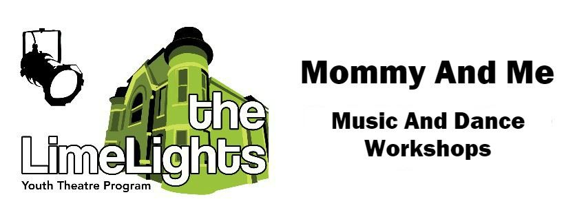 Mommy And Me Youth Theatre Workshops Page Banner